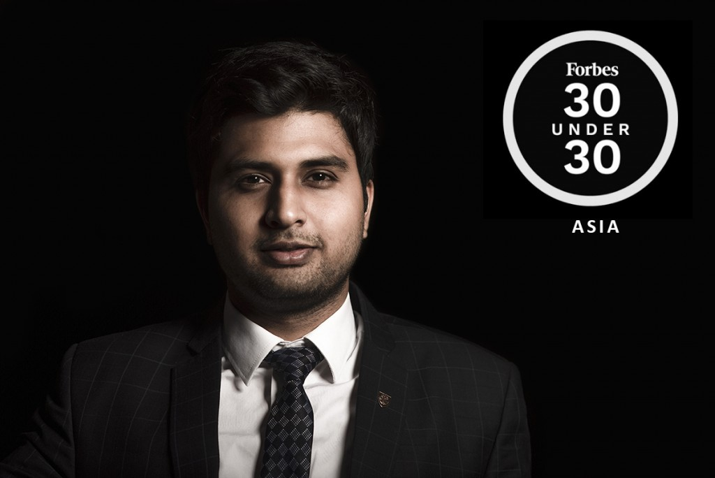 Karmesh Gupta in Forbes 30 Under 30 Asia 2020 List